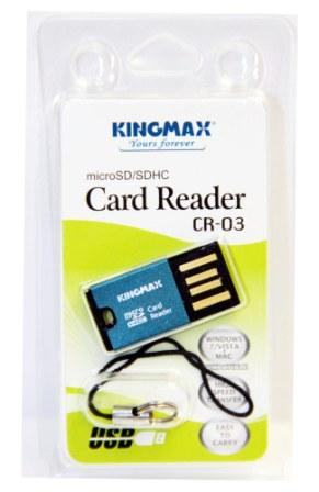 Карт-ридер KINGMAX Micro SD (CR-03)
