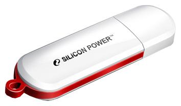 Флэш-карта SILICON POWER 4GB 320 WHITE LUX MINI USB 2.0